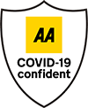 Certified by the AA  as Covid Confident